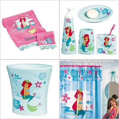 Disney ariel bathroom set then 28 images Disney bathroom ideas