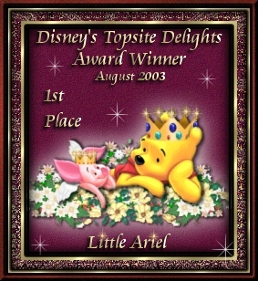 Disney's Topsite Delights Award for LittleAriel.com