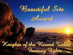 Fantasy fights Web Award for LittleAriel.com